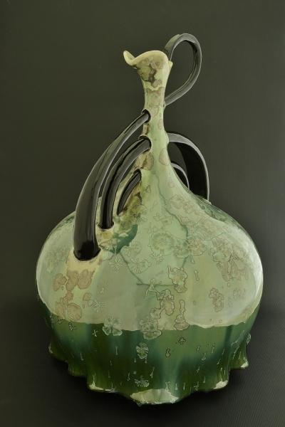 """Green Treble Clef"" Sold"