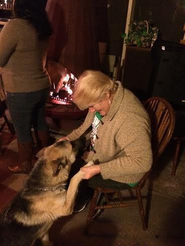Kathy & BAARC pup Sarah
