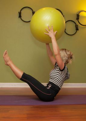 Teaser with Stability Ball