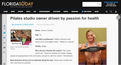 Pilates studio owner driven by passion for health