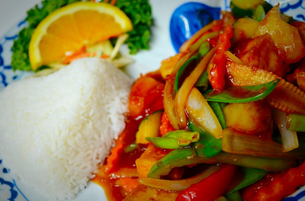 Thai Sweet & Sour with Tofu