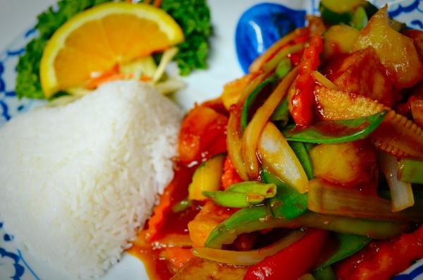 Thai Sweet & Sour with Tofu
