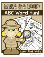 Write the Room - Alphabet A-Z