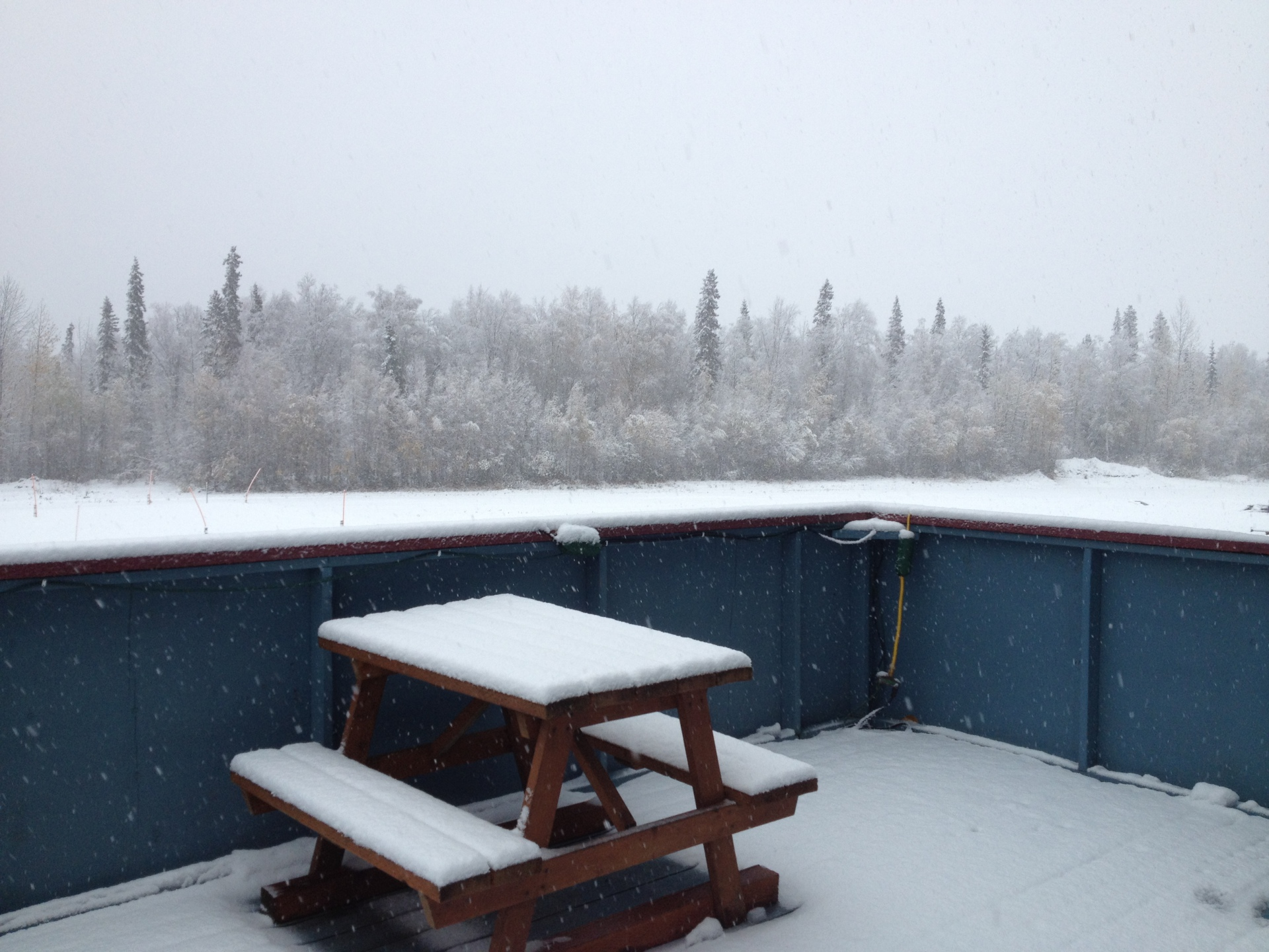 early october 2015 snow