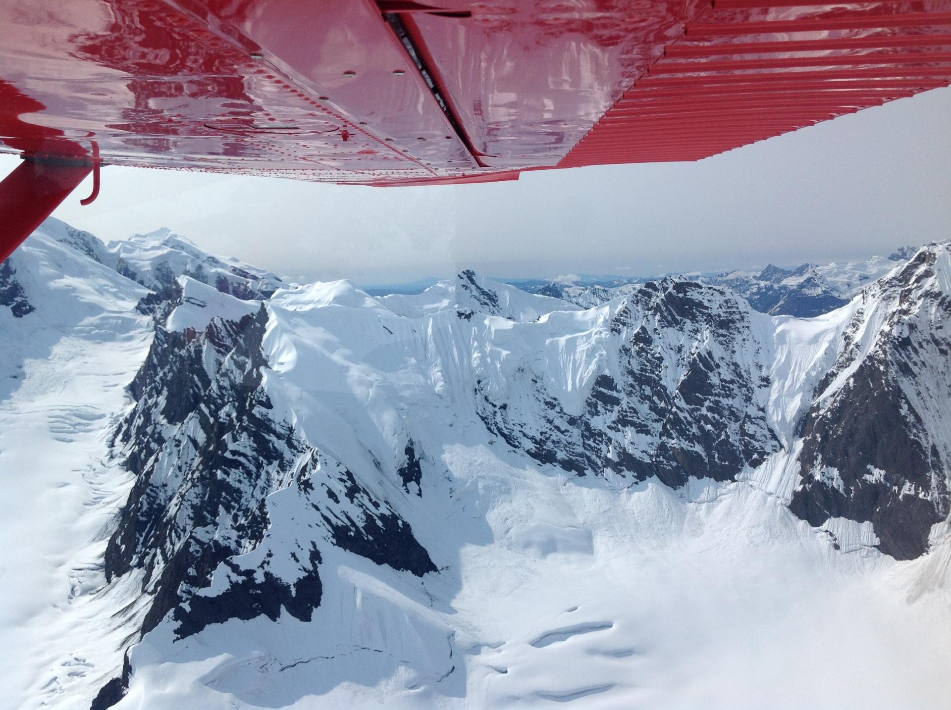 snowy alaska range