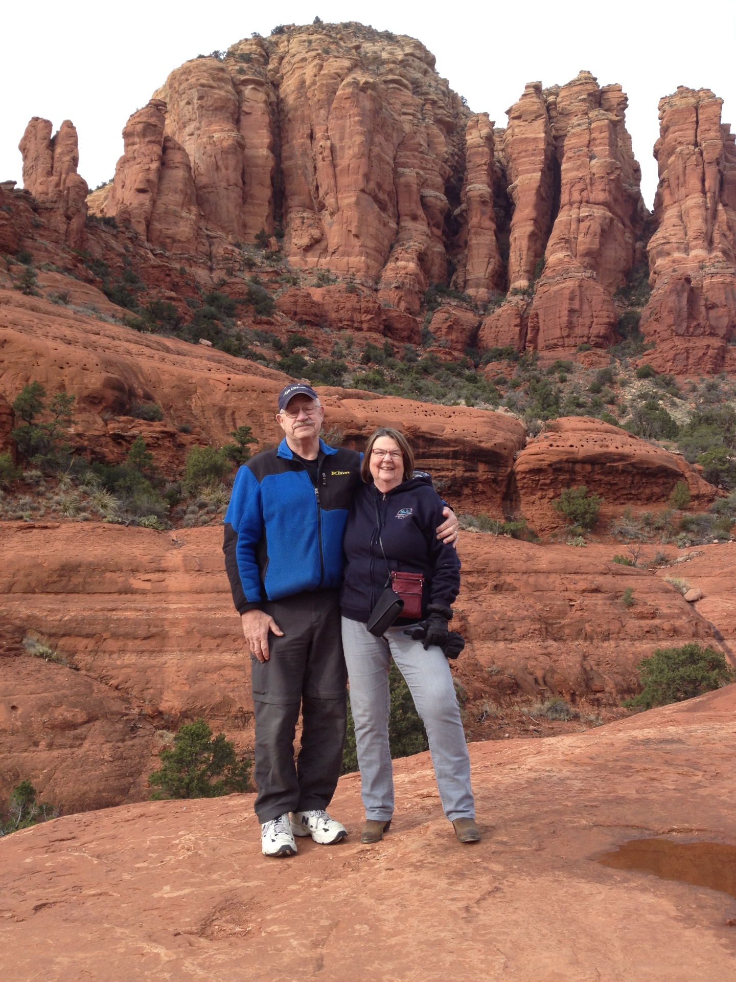 tom & connie in sedona