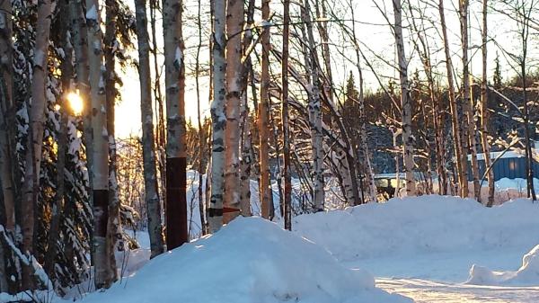 snowy rv park