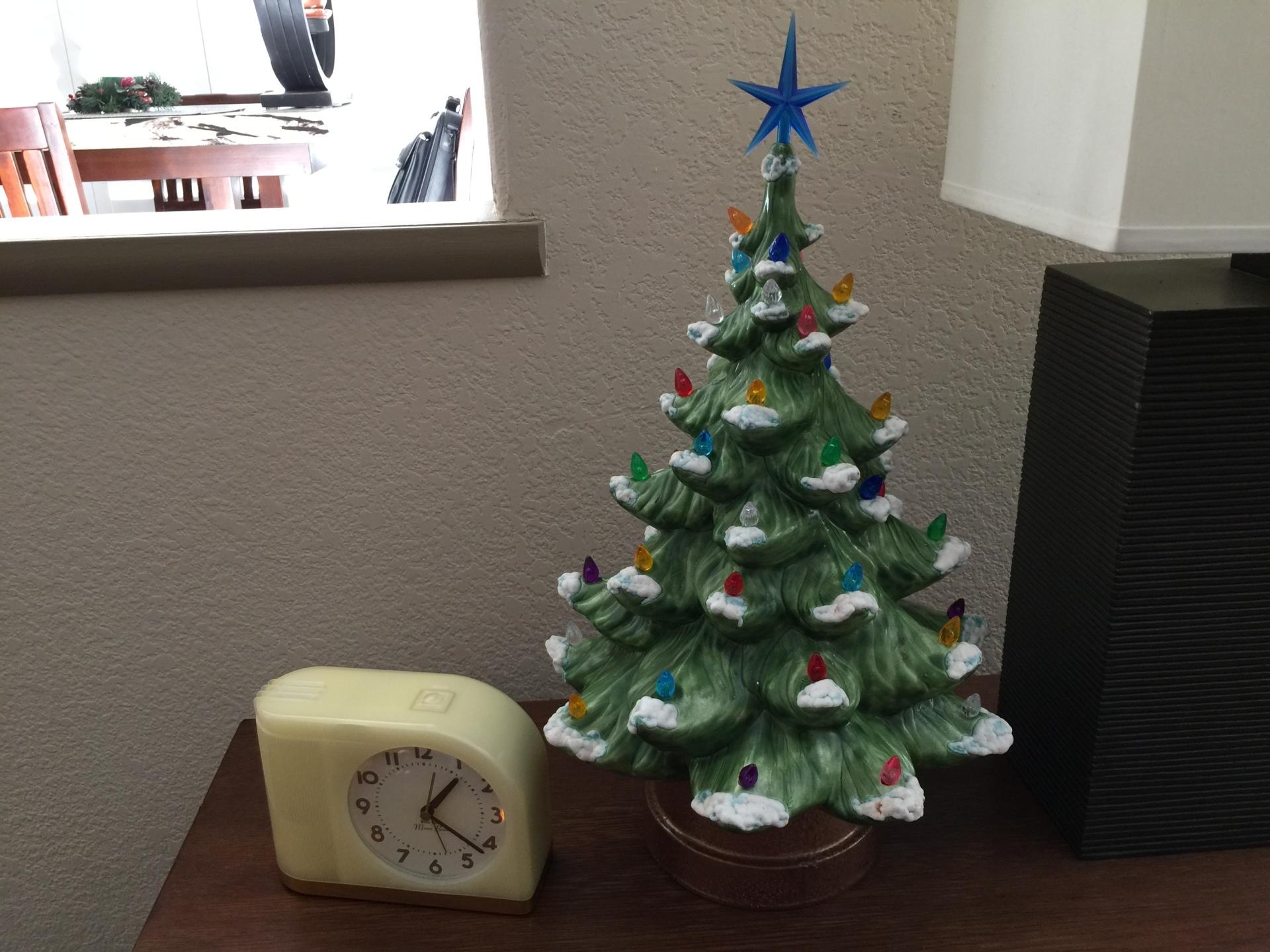 Vintage Ceramic Christmas Trees 2017