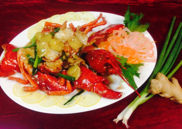 Lobster with Ginger & Scallion