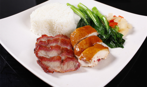BBQ Pork & Duck on Rice
