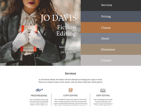 Jo Davis Fiction Editing