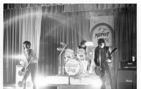 Misspent Youth Live 1977 Adams Hill School