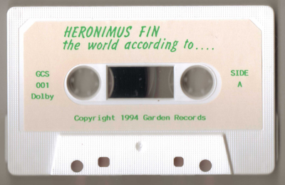 Heronimus Fin The World According To.. Mega Rare Cassette Prog Psych UK