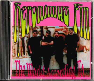 Heronimus Fin The World According To.. Mega Rare CD Prog Psych Japan