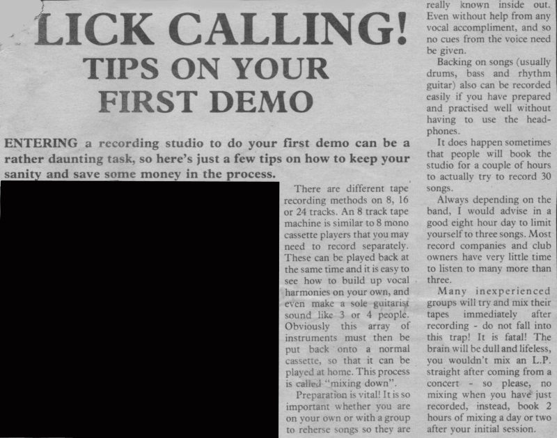 First Demo 1st - Flick Studios