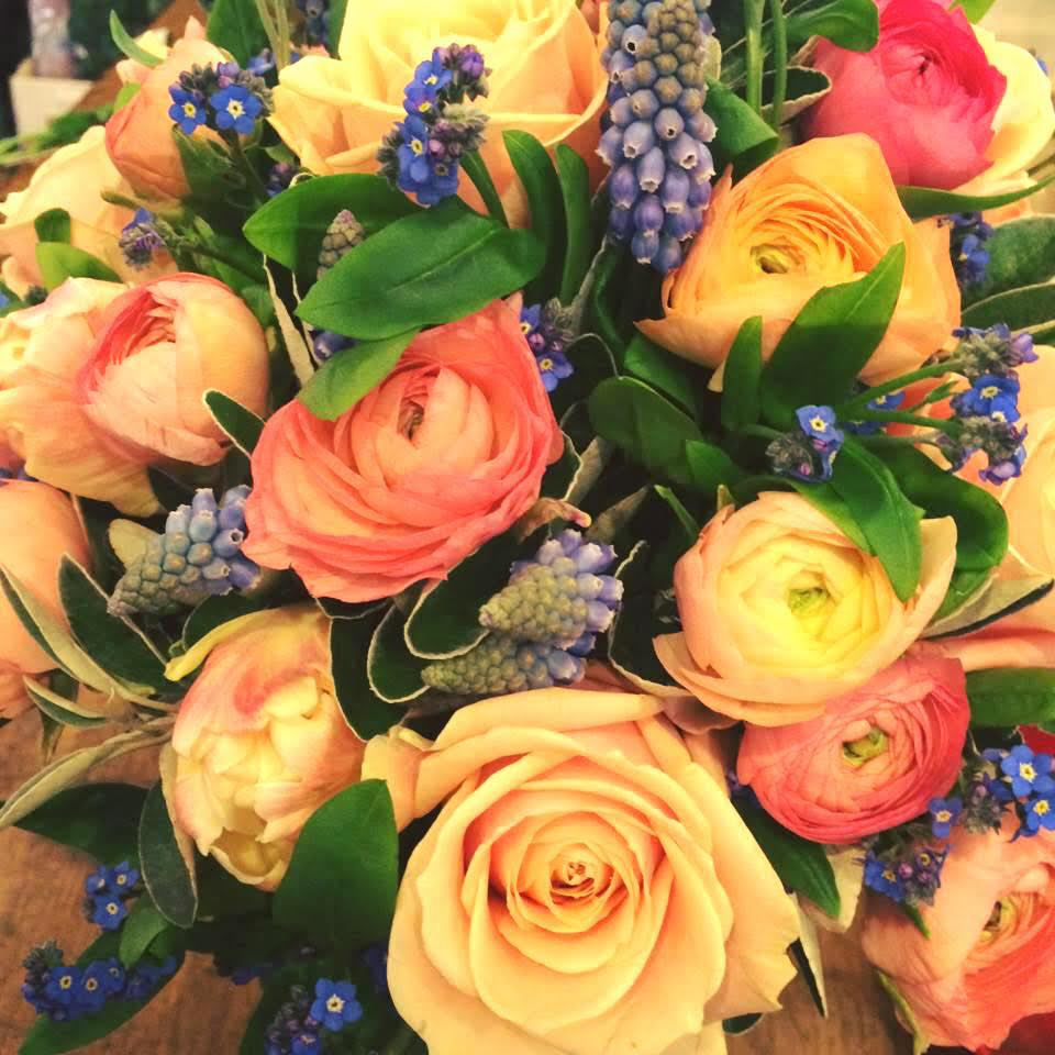 Spring Wedding Flowers - Brides and Bouquets