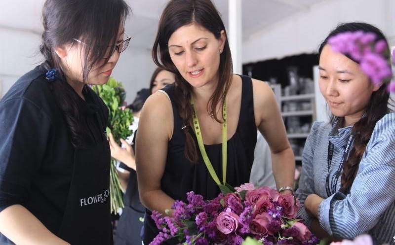 Floristry Classes with a difference!