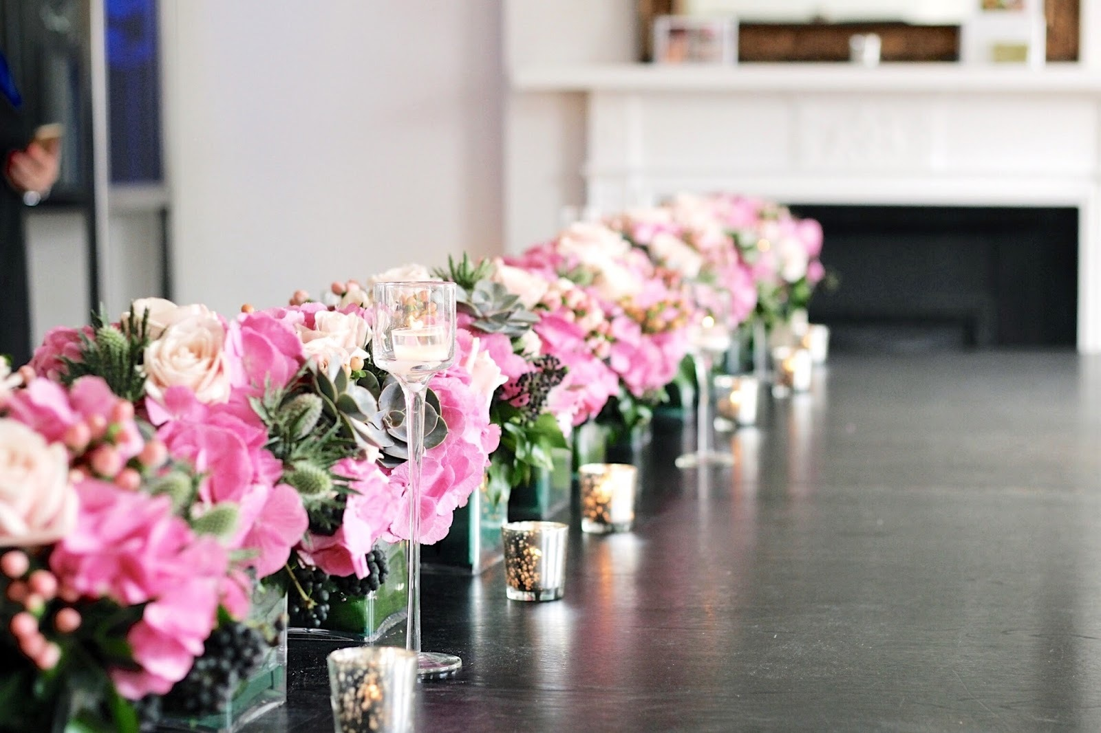 Floral Tasters with the Press