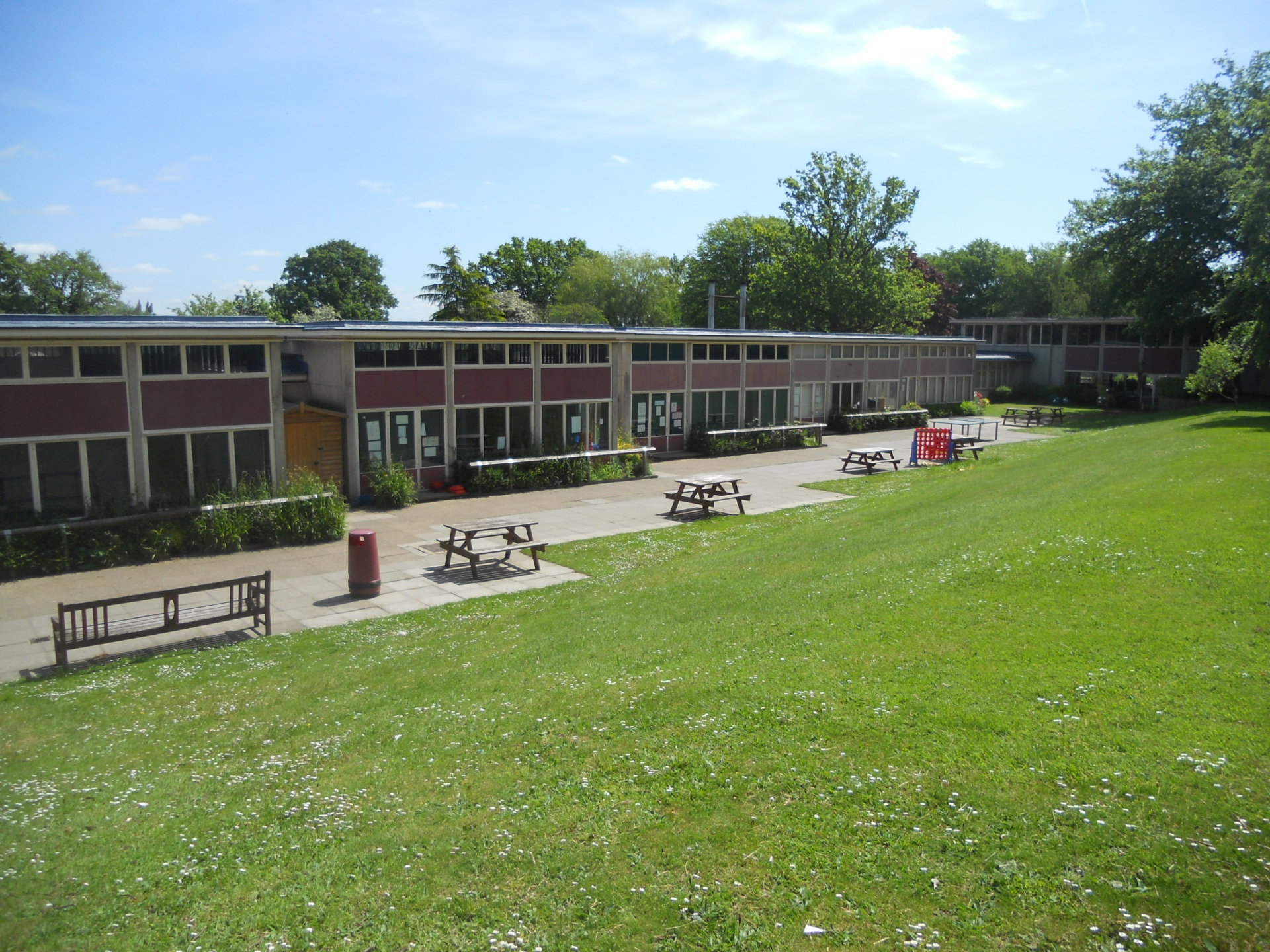 Templewood School - listed building