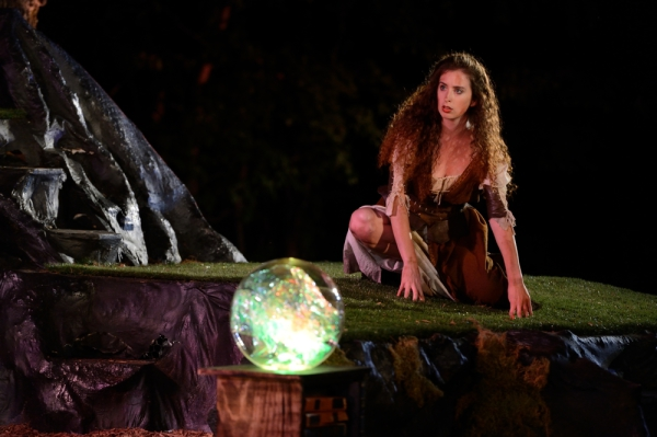 Amelia Fischer, Miranda, The Tempest, Tennessee Shakespeare Company