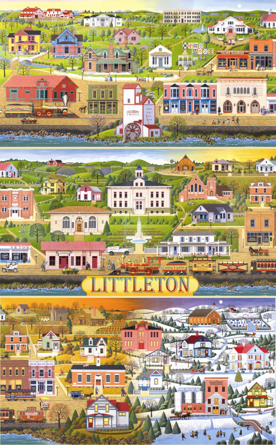 Littleton Mural - Prints Available