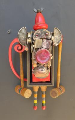 Croquet Monkey ~ SOLD