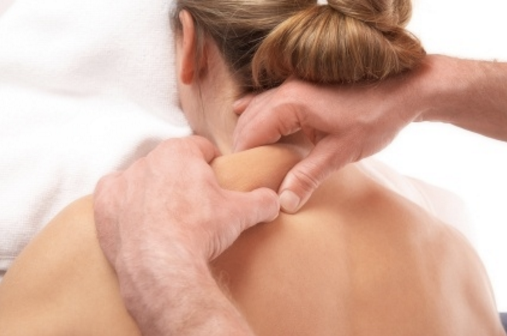 Neck & shoulders massage
