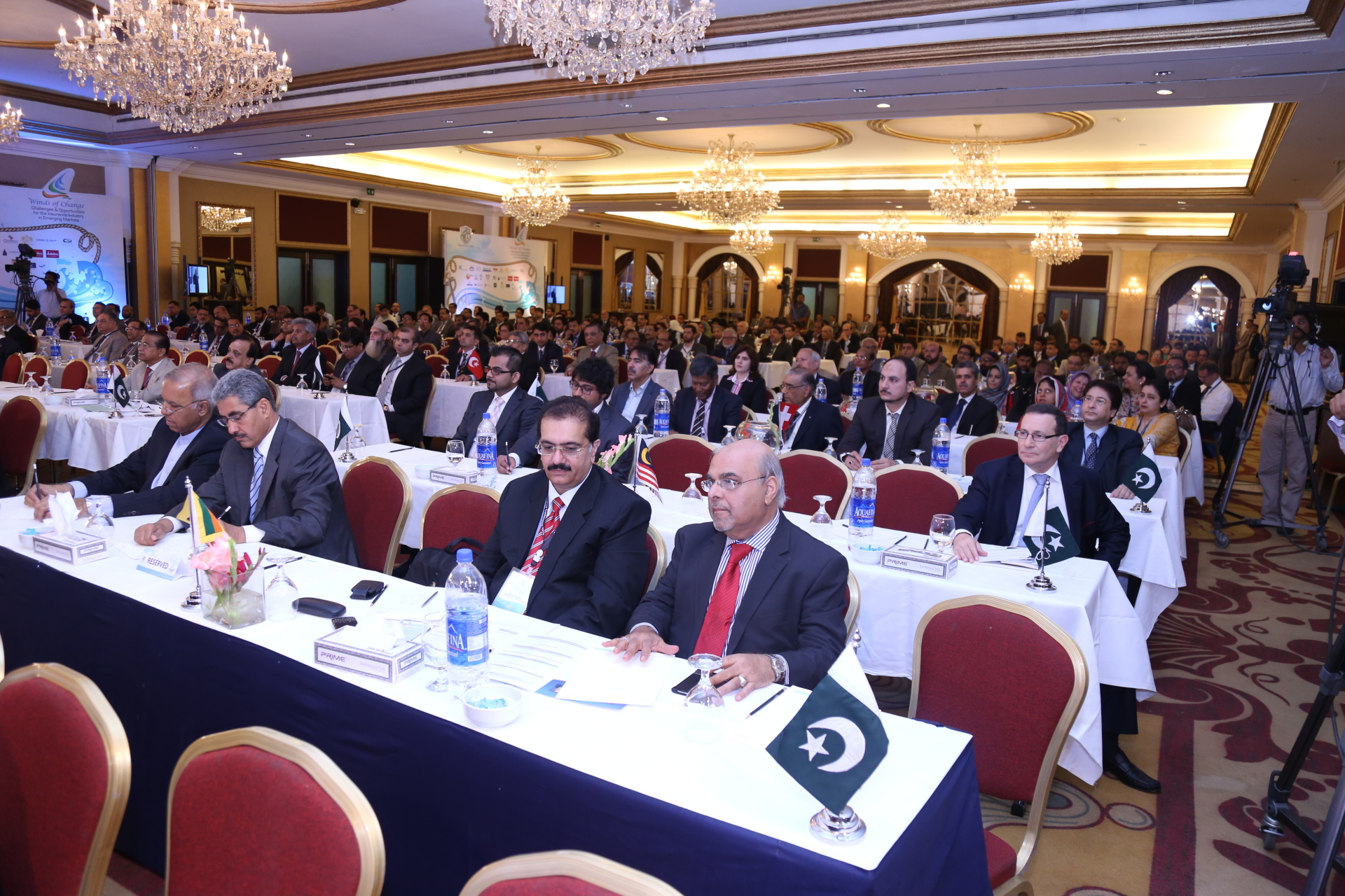 Attending the PIC Conference in Karachi, Pakistan
