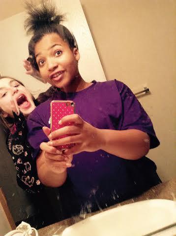 Me and my sister Jada
