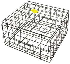 Heavy Duty Wire Crab Pot Box