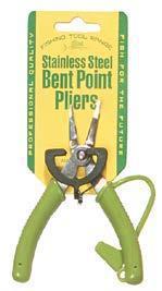 Mini Bent Nose Pliers S/S
