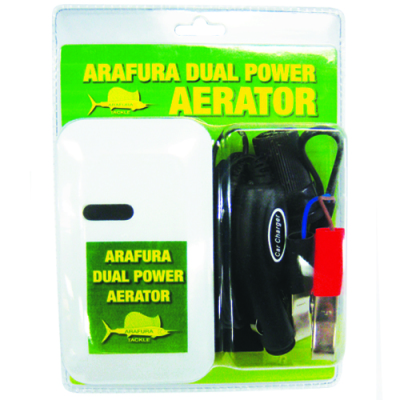 Aerator Dual Powered 12V or Battery