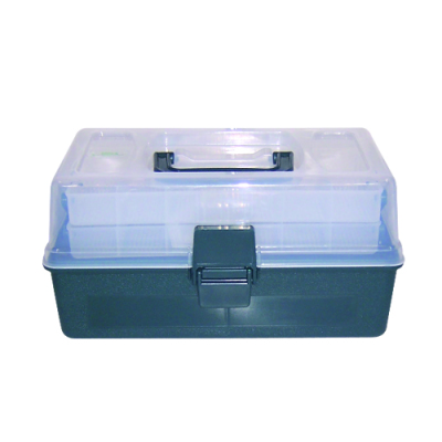 2 Tray Tackle Box with Carry Handle