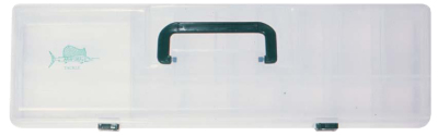 2 Tray Tackle Box with Handle