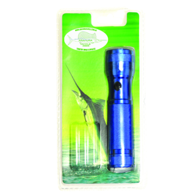 12 LED Torch Blue