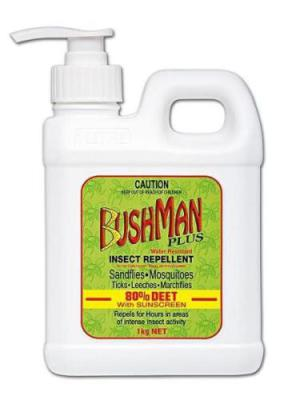Bushman 1kg UV Gel Pump Pack