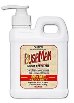Bushman 1kg Ultra Gel Pump Pack