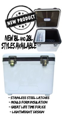 18L & 28L Top End Ice Boxs