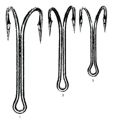 Maruto Double Hooks