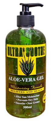 Ultra Soothe Aloe Vera Gel Pump Bottle 500ml
