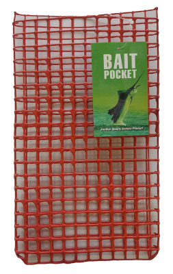 Bait Pocket Red Metal Large