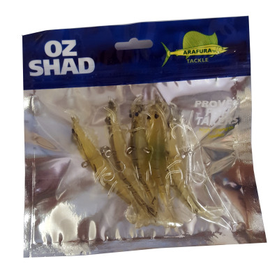 Prawn Shads Grey Mist