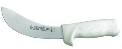 "6"" Skinning Knife Sani-Safe Handle"