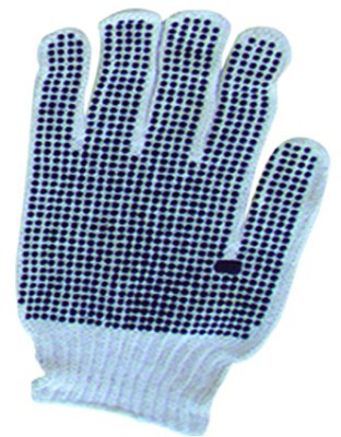 Black Dot Cotton Gloves