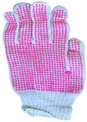 Pink Dot Cotton Gloves