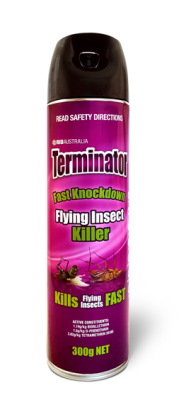 'Terminator' by RID                        300g Flying Insect Killer