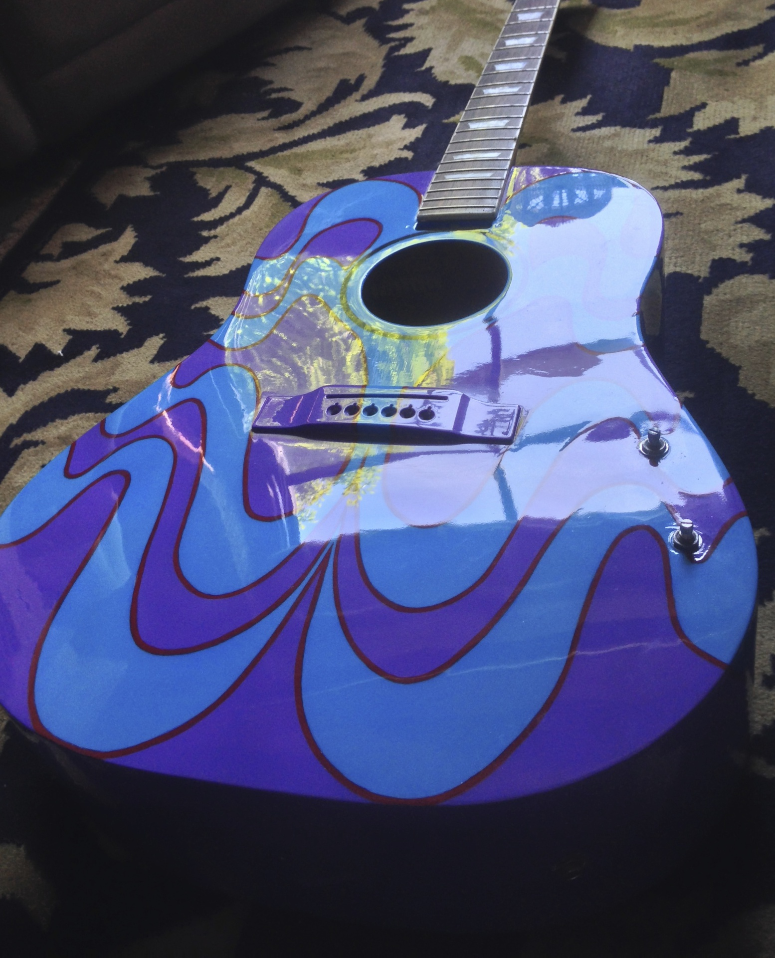 Finished Lennon Guitar
