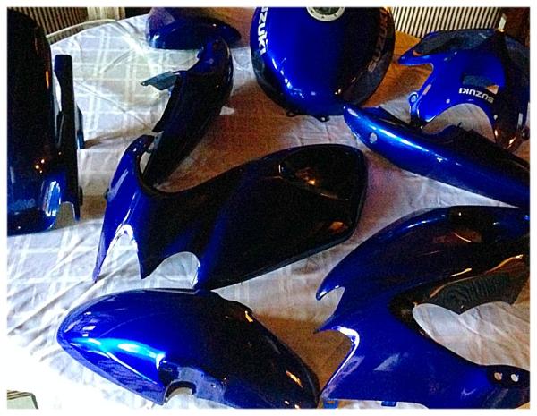 Deep Candy Blue Suzuki