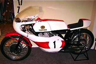 Yamaha One off Hand Build Racer