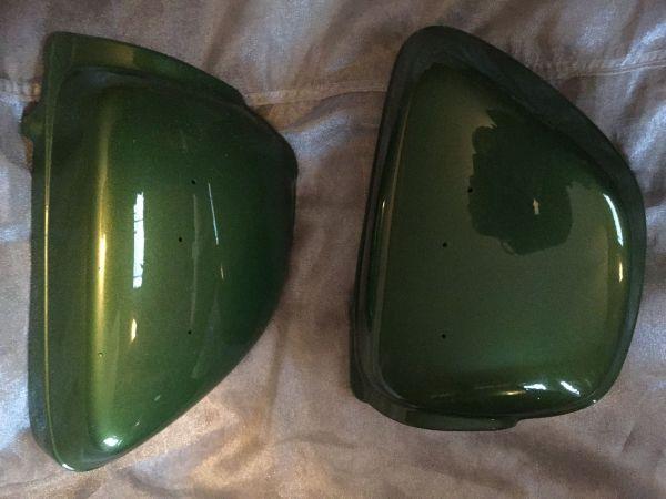 Honda Vintage restoration Pearl Candy Green